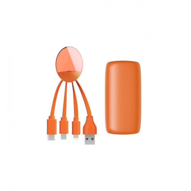 Внешняя аккум. батарея XOOPAR - WEEKENDER (Li-Pol,5000мА*ч) Оранжевый