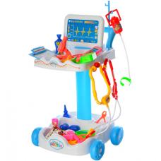 Тележка с набором инструментов Доктор Limo Toy (606-1-5) Голу