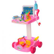 Тележка с набором инструментов Доктор Limo Toy (606-1-5) Розо