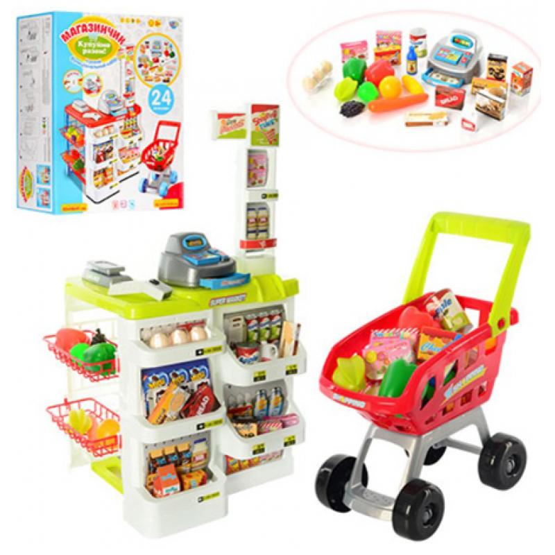 Интерактивный супермаркет с тележкой Limo Toy (668-01-03)