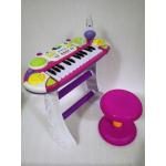 Детское пианино-синтезатор Limo Toy Юный виртуоз 7235 Розовый