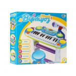 Детское пианино-синтезатор Limo Toy Юный виртуоз 7235 Голубой