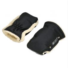 Зимние рукавички для колясок и санок For Kids Черный
