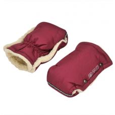 Зимние рукавички для колясок и санок For Kids Бордовый