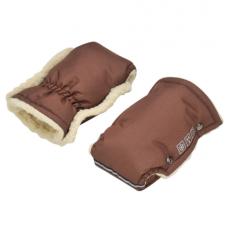 Зимние рукавички для колясок и санок For Kids Коричневый