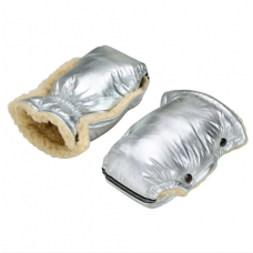 Зимние рукавички для колясок и санок For Kids Серебро