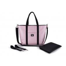 Сумка для коляски Cottonmoose Shopper 750/146 Pearl pink leat