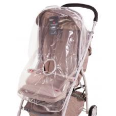 Дождевик для прогулочной коляски Qvatro DQS-1 клеёнка, малень