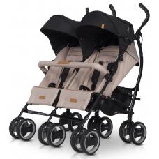 Прогулочная коляска-трость для двойни EasyGo Comfort Duo Latt