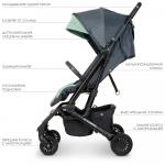 Прогулочная коляска EL Camino Select ME 1070 Gray Mint