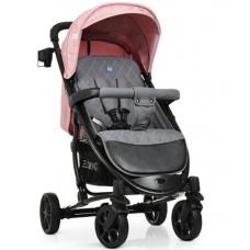 Прогулочная коляска EL Camino Zeta ME 1011L Denim Pale Pink