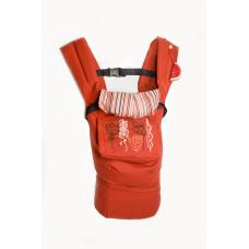 Эргономичный рюкзак-переноска My baby Модный карапуз Красный