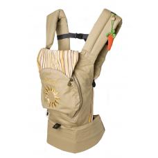 Эрго-рюкзак для переноски ребенка Модный карапуз Бежевый (03-