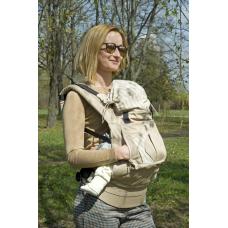 Эргономичный рюкзак-переноска My baby Модный карапуз Бежевый