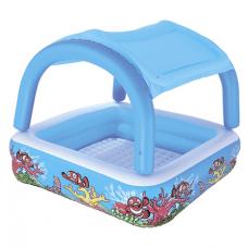 Детский надувной бассейн с крышей Bestway (52192)