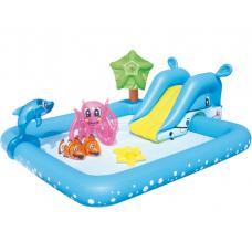 Детский надувной бассейн Bestway Аквариум 239x206 см (53052)