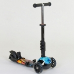 Детский самокат 5 в 1 Best Scooter Абстракция Черный (21500)
