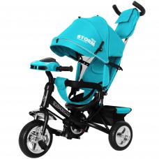 Трехколесный велосипед Baby Tilly Storm T-349/2 Бирюзовый