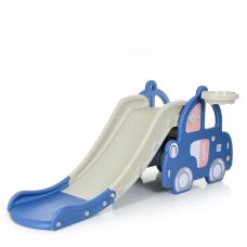 Детская горка Машинка Bambi WM19101-4 Синий