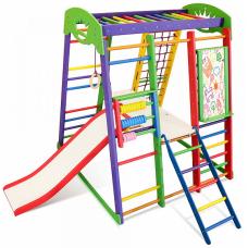 Детский спортивный комплекс Sportbaby Акварелька Plus 3