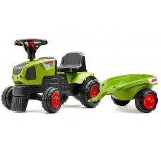 Трактор-каталка с прицепом Falk Baby Claas Axos 310 (1012B)