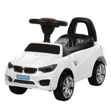 Машинка-каталка с EVA колесами Bambi M 3147B-1 Белый