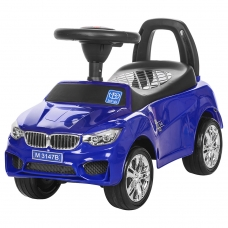 Машинка-каталка с EVA колесами Bambi M 3147B-4 Синий