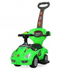 Машинка-каталка 3 в 1 Bambi M 4205-5 Зеленый