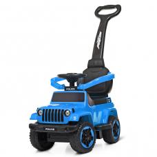 Машинка-каталка 2 в 1 Bambi M 4288-12 Голубой