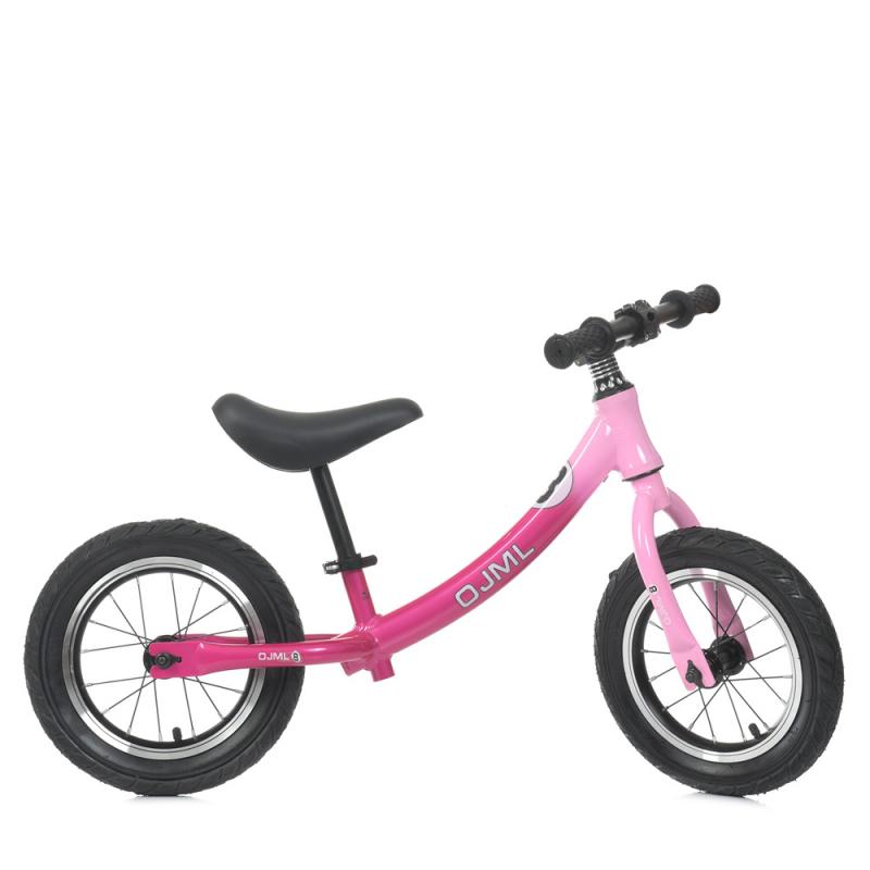 Детский беговел 12 ML-0083-2 Розовый