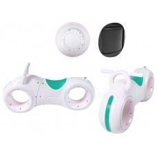 Беговел с Bluetooth и LED-подсветкой GS-0020 White/Green