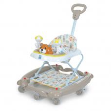 Детские ходунки 3 в 1 Bambi M 3656A-S-2 Бежевый