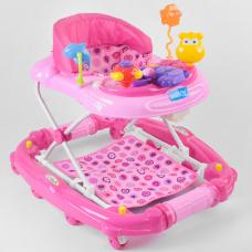 Детские ходунки JOY CP-10477 Розовый