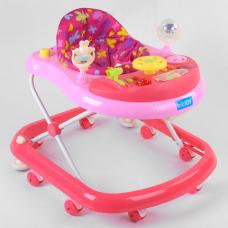 Детские ходунки JOY TS-05058 Розовый