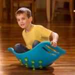 Качалка-балансир с присосками Fat Brain Toys Teeter Popper Синий (F0951ML)
