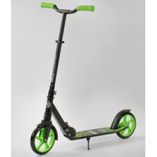 Детский двухколесный самокат Best Scooter Wolf Зеленый (21478