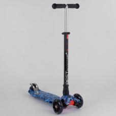 Детский самокат с алюминиевым рулем Best Scooter Maxi 779-153