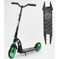 Двухколесный самокат с амортизатором Best Scooter Зеленый (62