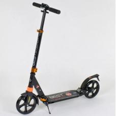Алюминиевый самокат Best Scooter Оранжевый (030692)