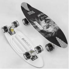Скейт Best Board A 45220 Серый