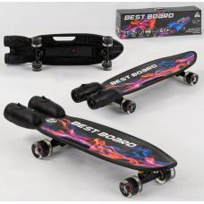 Скейтборд Best Board S-00501 Черный
