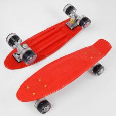 Скейт Пенни борд Best Board 8181 Ярко-красный