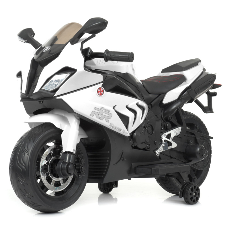 Детский электромотоцикл Bambi M 4532EL-1 Белый