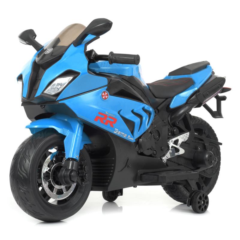 Детский электромотоцикл Bambi M 4532EL-4 Синий