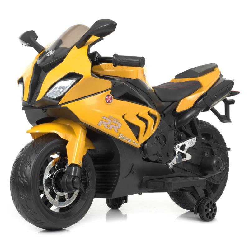 Детский электромотоцикл Bambi M 4532EL-6 Желтый