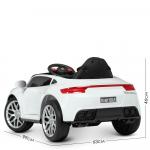 Детский электромобиль с пультом управления Bambi M 4611EBLR-1 Белый