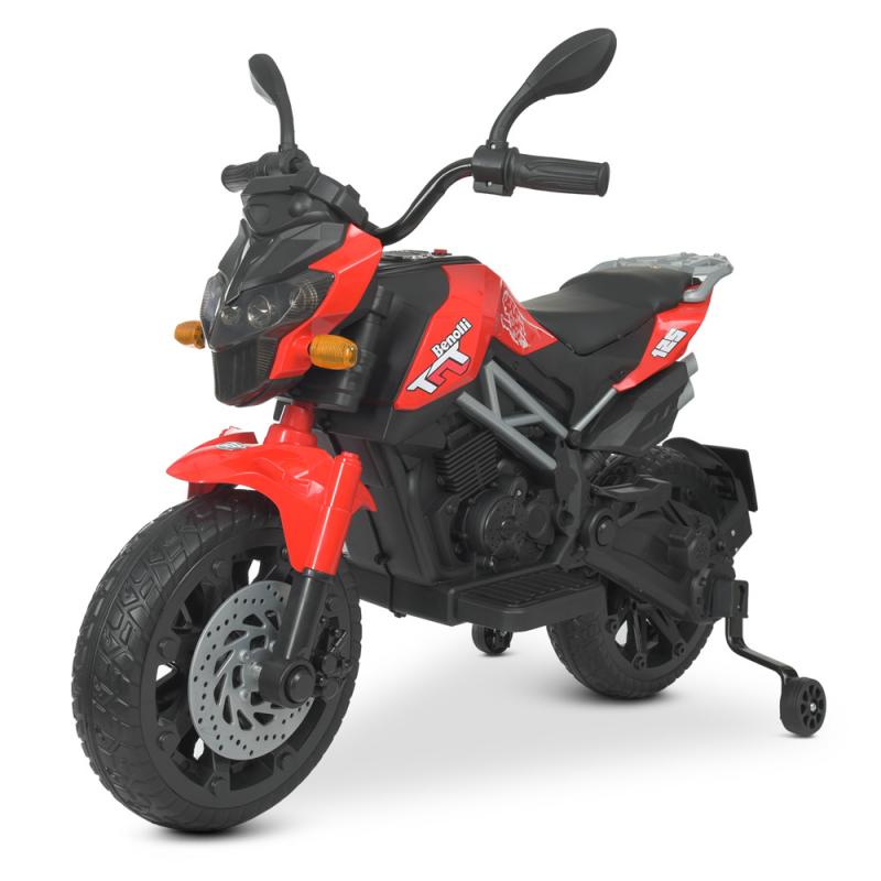 Детский электромотоцикл Bambi M 4621EL-3 Красный