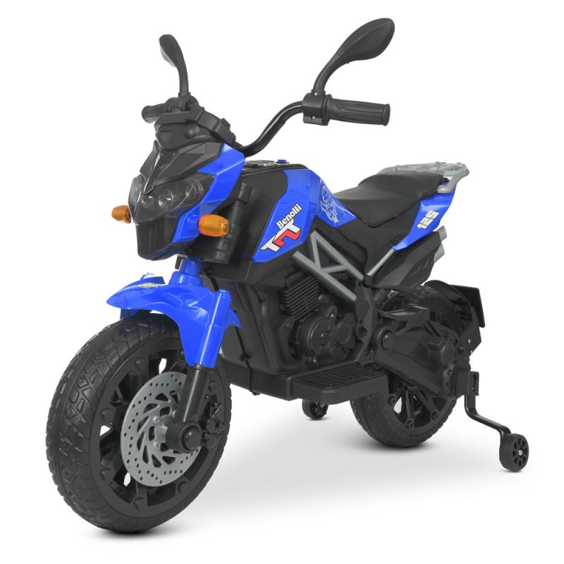 Детский электромотоцикл M 4621EL-4 Синий
