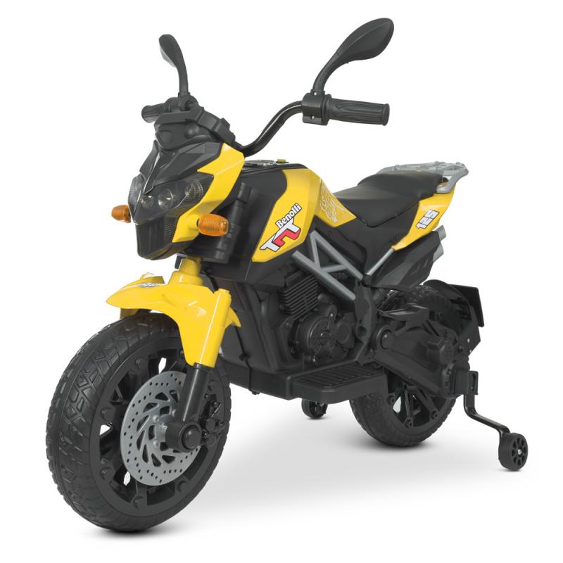 Детский электромотоцикл Bambi M 4621EL-6 Желтый