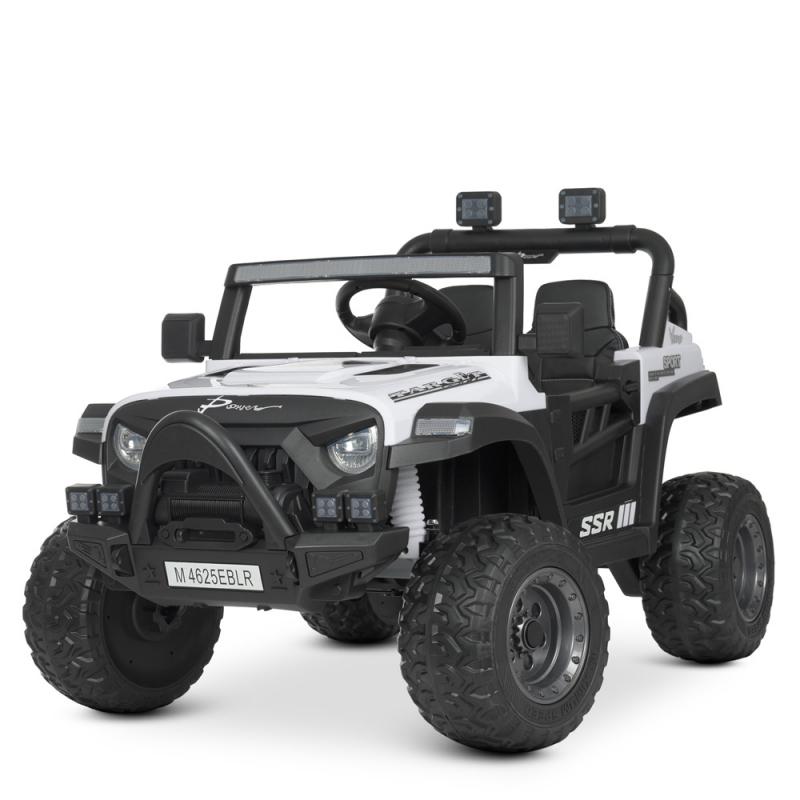 Детский электромобиль с пультом управления Bambi M 4625EBLR-1 Белый